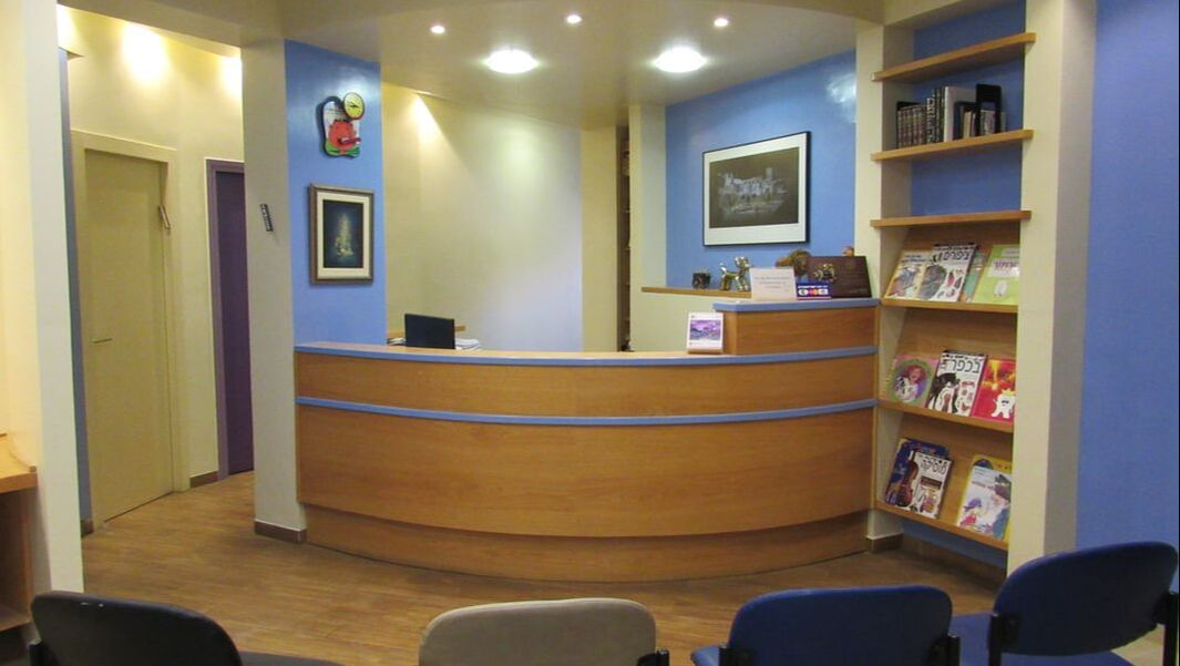 Dentists office in Town painted with high quality paint